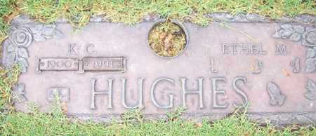 HUGHES, ETHEL M. - Maricopa County, Arizona | ETHEL M. HUGHES - Arizona Gravestone Photos