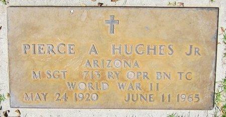 HUGHES, PIERCE A., JR. - Maricopa County, Arizona | PIERCE A., JR. HUGHES - Arizona Gravestone Photos