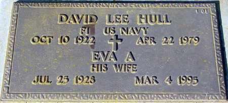 HULL, EVA A. - Maricopa County, Arizona | EVA A. HULL - Arizona Gravestone Photos