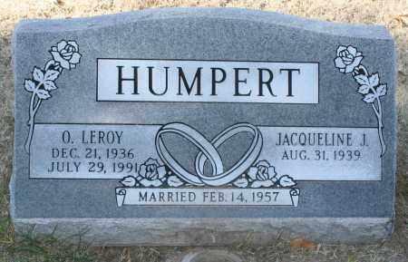 HUMPERT, O. LEROY - Maricopa County, Arizona | O. LEROY HUMPERT - Arizona Gravestone Photos