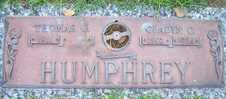 HUMPHREY, GLADYS O. - Maricopa County, Arizona | GLADYS O. HUMPHREY - Arizona Gravestone Photos