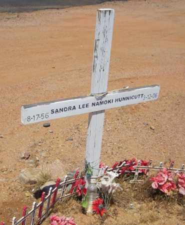 NAMOKI HUNNICUTT, SANDRA LEE - Maricopa County, Arizona | SANDRA LEE NAMOKI HUNNICUTT - Arizona Gravestone Photos