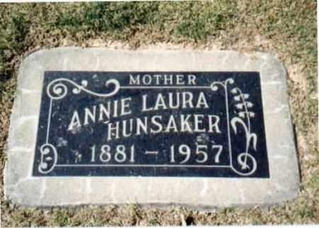 HUNSAKER, ANNIE LAURA - Maricopa County, Arizona   ANNIE LAURA HUNSAKER - Arizona Gravestone Photos