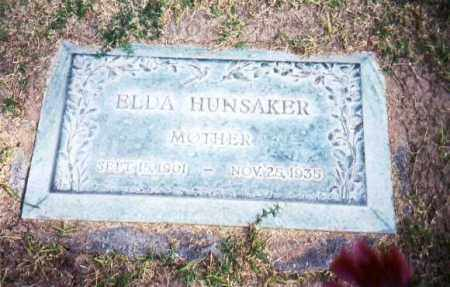 HUNSAKER, ELDA - Maricopa County, Arizona | ELDA HUNSAKER - Arizona Gravestone Photos