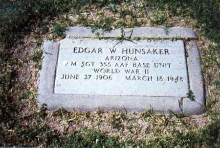 HUNSAKER, EDGAR WILLIAM - Maricopa County, Arizona | EDGAR WILLIAM HUNSAKER - Arizona Gravestone Photos