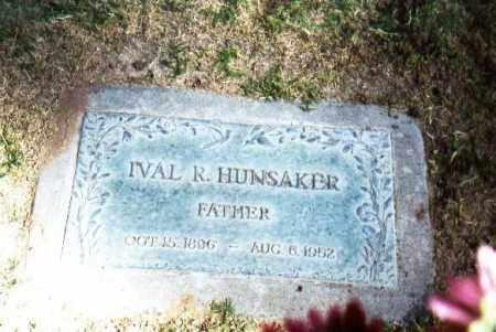 HUNSAKER, IVAL R - Maricopa County, Arizona | IVAL R HUNSAKER - Arizona Gravestone Photos