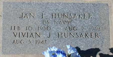 HUNSAKER, VIVIAN J - Maricopa County, Arizona | VIVIAN J HUNSAKER - Arizona Gravestone Photos