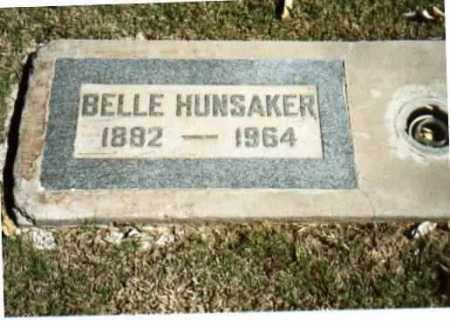 "HUNSAKER, OLLIE MAYBELLE ""BELLE"" - Maricopa County, Arizona 
