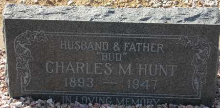 HUNT, CHARLES M. - Maricopa County, Arizona | CHARLES M. HUNT - Arizona Gravestone Photos