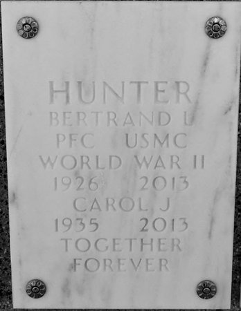 OWENS HUNTER, CAROL JEAN - Maricopa County, Arizona | CAROL JEAN OWENS HUNTER - Arizona Gravestone Photos