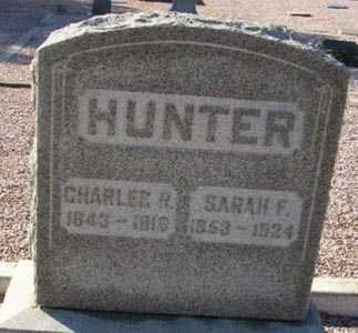 HUNTER, SARAH F. - Maricopa County, Arizona | SARAH F. HUNTER - Arizona Gravestone Photos