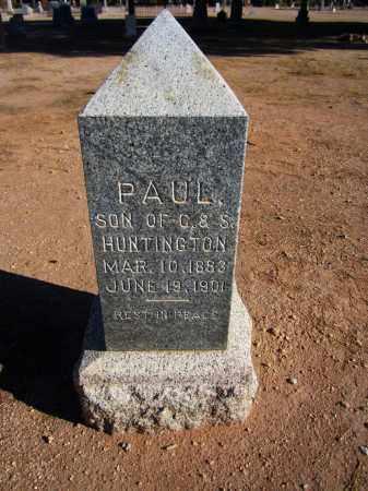 HUNTINGTON, PAUL - Maricopa County, Arizona   PAUL HUNTINGTON - Arizona Gravestone Photos