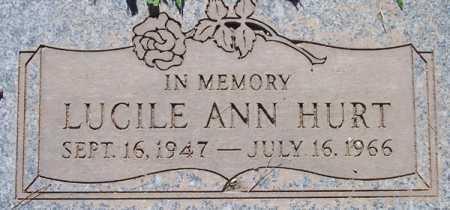 HURT, LUCILE ANN - Maricopa County, Arizona | LUCILE ANN HURT - Arizona Gravestone Photos