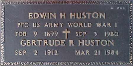 HUSTON, GERTRUDE R. - Maricopa County, Arizona | GERTRUDE R. HUSTON - Arizona Gravestone Photos