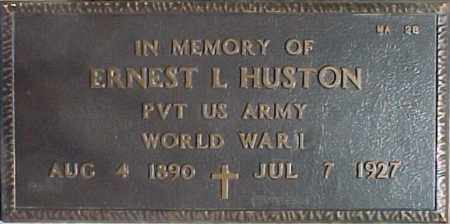 HUSTON, ERNEST L - Maricopa County, Arizona | ERNEST L HUSTON - Arizona Gravestone Photos