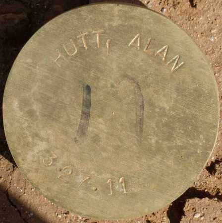 HUTT, ALAN - Maricopa County, Arizona | ALAN HUTT - Arizona Gravestone Photos
