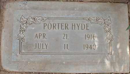 HYDE, PORTER - Maricopa County, Arizona | PORTER HYDE - Arizona Gravestone Photos