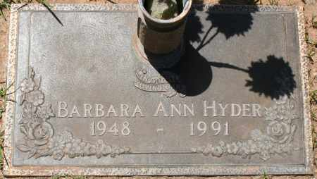 HYDER, BARBARA ANN - Maricopa County, Arizona | BARBARA ANN HYDER - Arizona Gravestone Photos