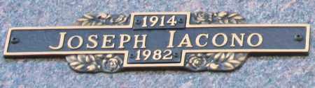 IACONO, JOSEPH - Maricopa County, Arizona | JOSEPH IACONO - Arizona Gravestone Photos