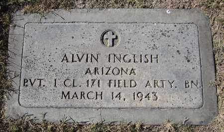INGLISH, ALVIN - Maricopa County, Arizona | ALVIN INGLISH - Arizona Gravestone Photos