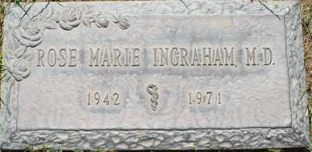 INGRAHAM, ROSE MARIE, M.D. - Maricopa County, Arizona | ROSE MARIE, M.D. INGRAHAM - Arizona Gravestone Photos
