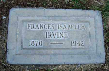 WHITE IRVINE, FRANCES ISABELLA - Maricopa County, Arizona | FRANCES ISABELLA WHITE IRVINE - Arizona Gravestone Photos