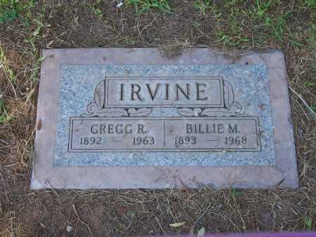 IRVINE, GREGG R. - Maricopa County, Arizona | GREGG R. IRVINE - Arizona Gravestone Photos