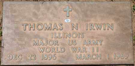 IRWIN, THOMAS N. - Maricopa County, Arizona | THOMAS N. IRWIN - Arizona Gravestone Photos