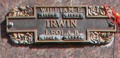 IRWIN, LEOLA B - Maricopa County, Arizona   LEOLA B IRWIN - Arizona Gravestone Photos
