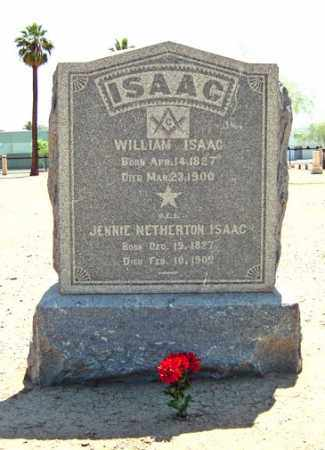 ISAAC, WILLIAM - Maricopa County, Arizona | WILLIAM ISAAC - Arizona Gravestone Photos