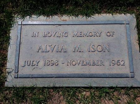 ISON, ALVIA MAHALA - Maricopa County, Arizona | ALVIA MAHALA ISON - Arizona Gravestone Photos