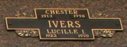 IVERS, LUCILLE I - Maricopa County, Arizona | LUCILLE I IVERS - Arizona Gravestone Photos