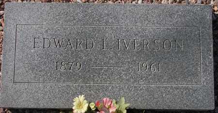 IVERSON, EDWARD L. - Maricopa County, Arizona | EDWARD L. IVERSON - Arizona Gravestone Photos