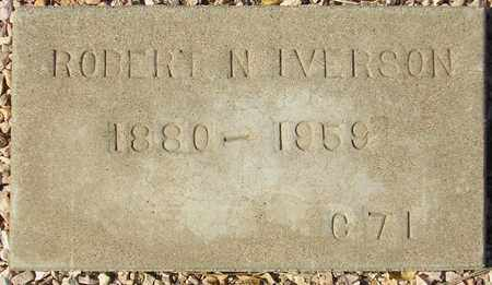 IVERSON, ROBERT N. - Maricopa County, Arizona | ROBERT N. IVERSON - Arizona Gravestone Photos