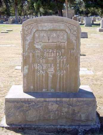 IVY, JAMES PLEASANT - Maricopa County, Arizona   JAMES PLEASANT IVY - Arizona Gravestone Photos