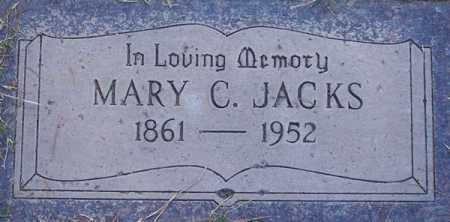 JACKS, MARY C. - Maricopa County, Arizona | MARY C. JACKS - Arizona Gravestone Photos