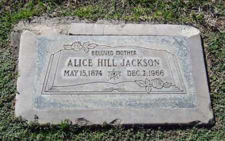 JACKSON, ALICE LEAH - Maricopa County, Arizona | ALICE LEAH JACKSON - Arizona Gravestone Photos
