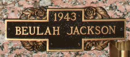 JACKSON, BEULAH - Maricopa County, Arizona | BEULAH JACKSON - Arizona Gravestone Photos