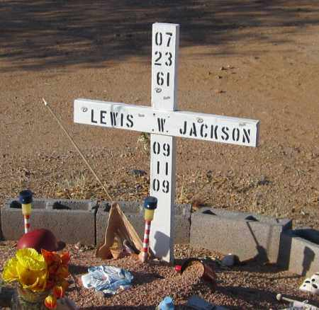 JACKSON, LEWIS W. - Maricopa County, Arizona | LEWIS W. JACKSON - Arizona Gravestone Photos