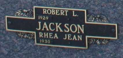 JACKSON, RHEA JEAN - Maricopa County, Arizona | RHEA JEAN JACKSON - Arizona Gravestone Photos