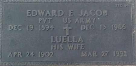 JACOB, LUELLA - Maricopa County, Arizona | LUELLA JACOB - Arizona Gravestone Photos
