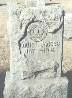 JACOBS, LOUIS L. - Maricopa County, Arizona | LOUIS L. JACOBS - Arizona Gravestone Photos