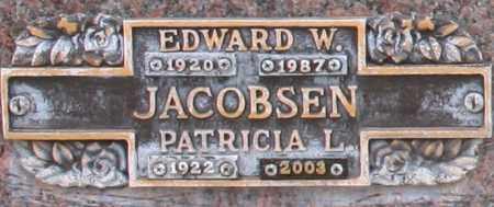 JACOBSEN, EDWARD W - Maricopa County, Arizona | EDWARD W JACOBSEN - Arizona Gravestone Photos
