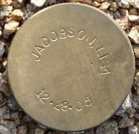JACOBSON, LISA - Maricopa County, Arizona | LISA JACOBSON - Arizona Gravestone Photos
