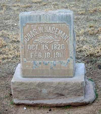 JAGEMAN, CHARLES W. - Maricopa County, Arizona   CHARLES W. JAGEMAN - Arizona Gravestone Photos
