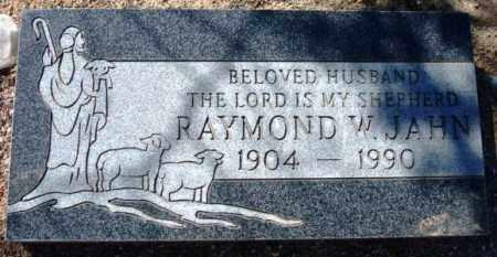 JAHN, RAYMOND W. - Maricopa County, Arizona   RAYMOND W. JAHN - Arizona Gravestone Photos