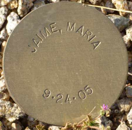 JAIME, MARIA - Maricopa County, Arizona | MARIA JAIME - Arizona Gravestone Photos