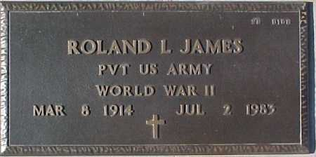 JAMES, ROLAND L. - Maricopa County, Arizona | ROLAND L. JAMES - Arizona Gravestone Photos
