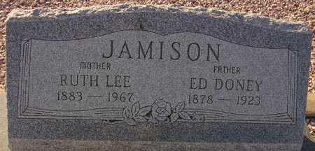 JAMISON, ED DONEY - Maricopa County, Arizona | ED DONEY JAMISON - Arizona Gravestone Photos
