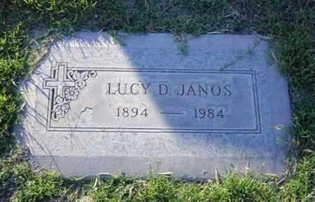 JANOS, LUCY - Maricopa County, Arizona   LUCY JANOS - Arizona Gravestone Photos